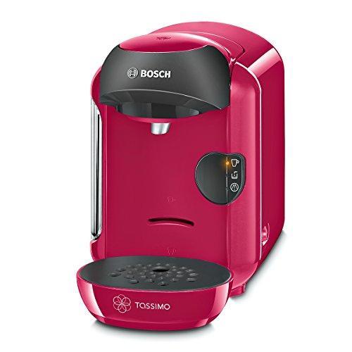 Bosch TAS1251 Tassimo Multi-Getränke-Automat VIVY (kompakte Gerätemaße, Getränkevielfalt, vollautomatische 1-Knopf-Bedienung), Sweet Pink