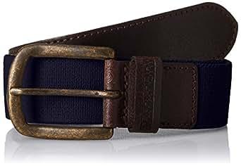 Napapijri Pallet, Cinturón para Hombre, Azul (Blu Marine 176) 90 (Talla del fabricante: 1)