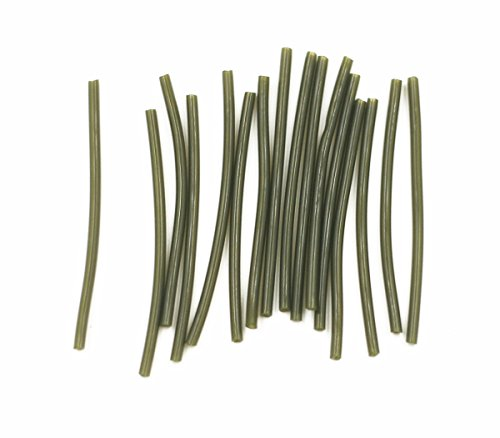 (Carp Fishing Rubber Tubes for Carp Fishing Hair Rigs DIY Tackles,48pcs/Pack)