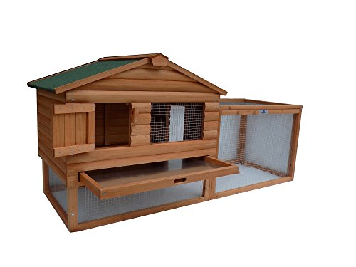 Confidence 62 Inch Rabbit Hutch Chicken Coop