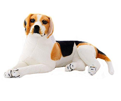 """SOSAM Beagle Dog Stuffed Animal Plush Toy 35.4"""""""