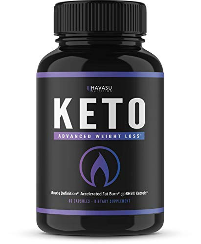 Premium Keto Fat Burner with BHB Exogenous Salts – Weight Loss Pills – Formulated to Provide Optimal Ketosis Performance Suppressing Appetite and Boosting Energy; Patented BHB, Non-GMO For Sale
