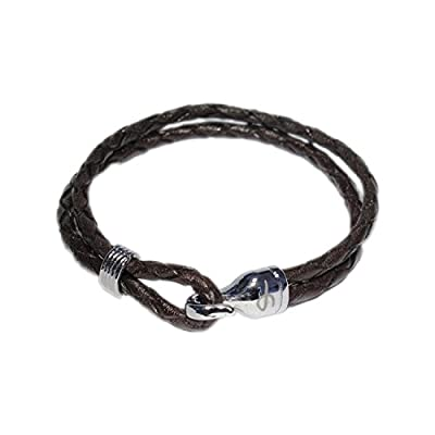 AUTHENTIC HANDMADE Leather Bracelet, Men Women Wristbands Braided Bangle Craft Multi [SKU003093]