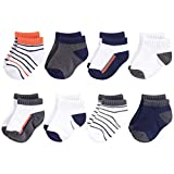 Best Yoga Sprout Baby Socks - Yoga Sprout Unisex Baby No Show Socks, Orange Review