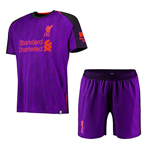Liverpool Away Kit - Soccer Kits Custom Soccer Jersey & Shorts & Socks 15 Teams (Home and Away) 2018-2019 New Season Personalized Soccer Jersey for Kids Adult Youth Boys Support Customization Custom Football Jersey