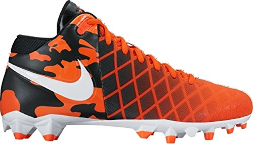 Nike Herren Feld General Pro TD Fußball Lacrosse Cleats Team Orange / Weiß-Schwarz-Total-Orange