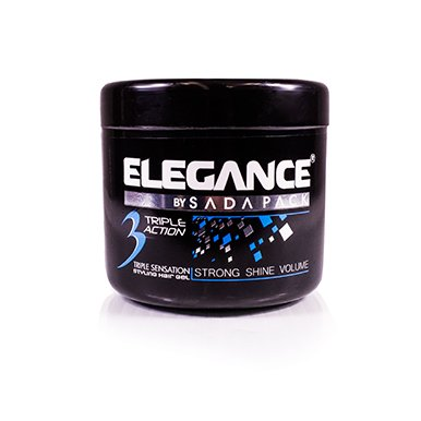 Elegance Strong hold Hair Gel - Earth Fragrance 500 ml