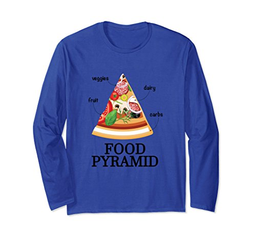 food pyramid pizza shirt - 4