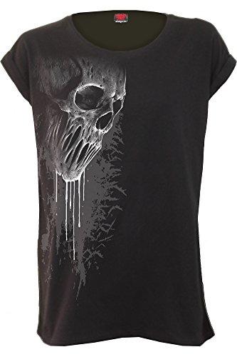 Spiral Damen T-Shirt Schwarz schwarz