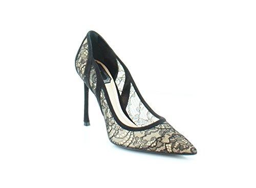 Dior Christian Lingerie Women's Heels 900 Noir Size 7.5 M