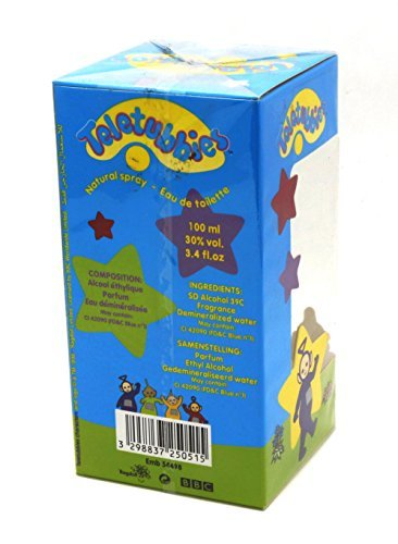 BBC Teletubbies for Children 100ml/3.4 oz EDT Spray - Made in France