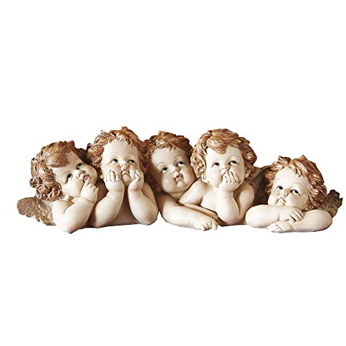(CT DISCOUNT STORE Adorable Cherub Angle Table Decoration)