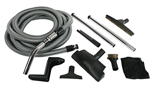 Cen-Tec Systems 91431 Complete Central Vacuum Accessory Kit with Metal (Metal Central Vacuum)