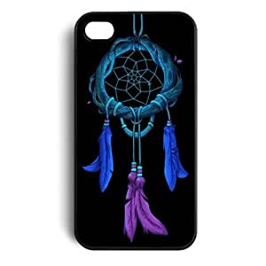 amtonseeshop Newly Fashion Brand New Hot Dream Catcher Print Case Back Cover for Iphone 5s 5 5g/ Iphone 4 4s 4g 4th/samsung Galaxy S4 I9500 (Black for iPhone 5 5G 5S)