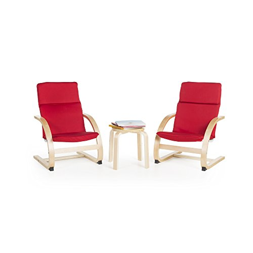 Kiddie Rocker Chair Set Red - Rocker Sage