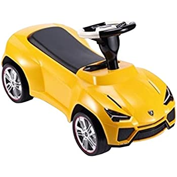 Officially Licensed Lamborghini Urus Ride On Push Car   Yellow