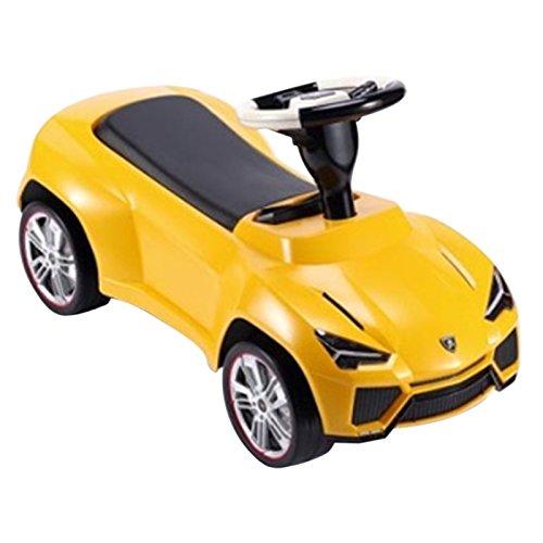 Officially Licensed Lamborghini Urus Ride On Push Car   Yellow