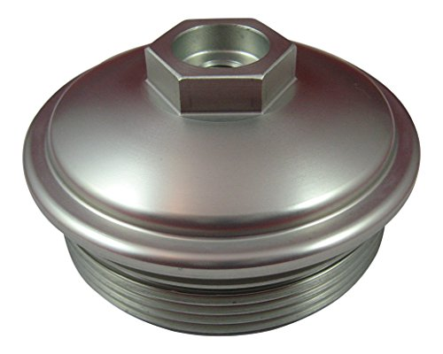 No Pressure Port (AccurateDiesel 6.0L Powerstroke Billet Aluminum Fuel Filter Cap with Pressure Test)