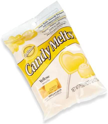 Wilton Candy Wafer Melts, Yellow