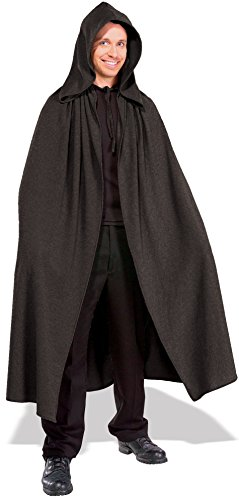 Robe With Grey Hood Costumes (Rubie's Costume Men's Lord Of The Rings Adult Elven Cloak, Grey, Standard)