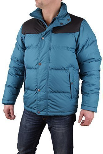 Sleeve Eye Clothing Timberland Goose Down Teal Men's Long Coat Mtn Jacket fPddqg8t