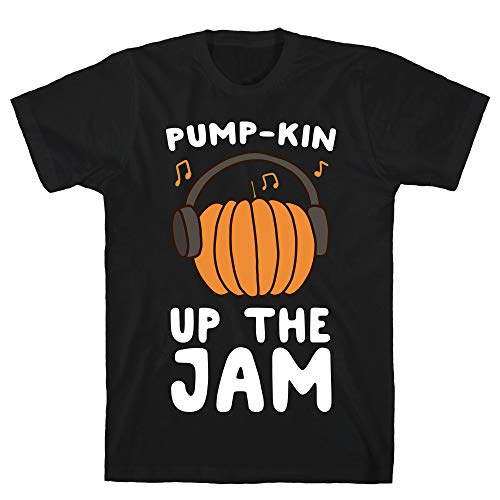 LookHUMAN Pump-kin Up The Jam XL Black Men's