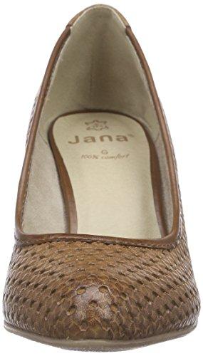 Jana Damen 22401 Pumps Braun (NUT 440)