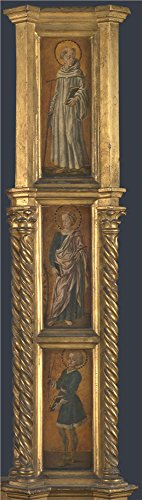 Oil Painting 'Jacopo Di Antonio (Master Of Pratovecchio) Right Pilaster Of An Altarpiece' 20 x 71 inch / 51 x 180 cm , on High Definition HD canvas prints, gifts - Johnson Sunglasses Don