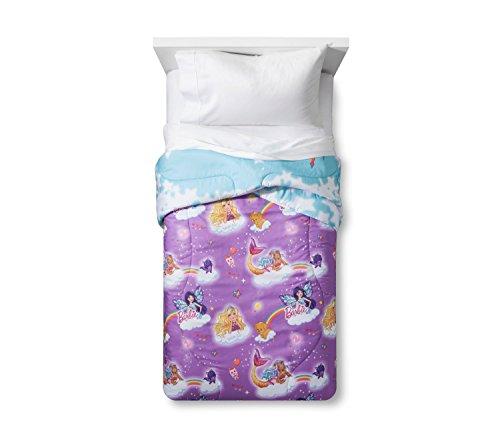 Barbie Dreamtopia Unicorn 4pc Bedding Set (Comforter + Sheet Set)