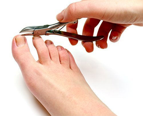 Medical-Grade Toenail Clippers – Podiatrist's Nippers for Thick and Ingrown Nails by Fox Medical Equipment (Image #7)
