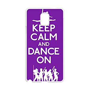 YYYT Keep Calm And Dance ON Hot Seller Stylish Hard Case For Samsung Galaxy Note4