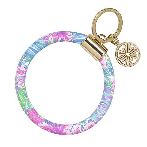 Lilly Pulitzer Round Keychain Swizzle In One Size
