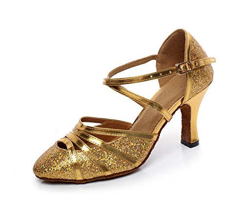 Danza JSHOE Tac Zapatos para De Latina Mujer De 6xOwqvnHx1
