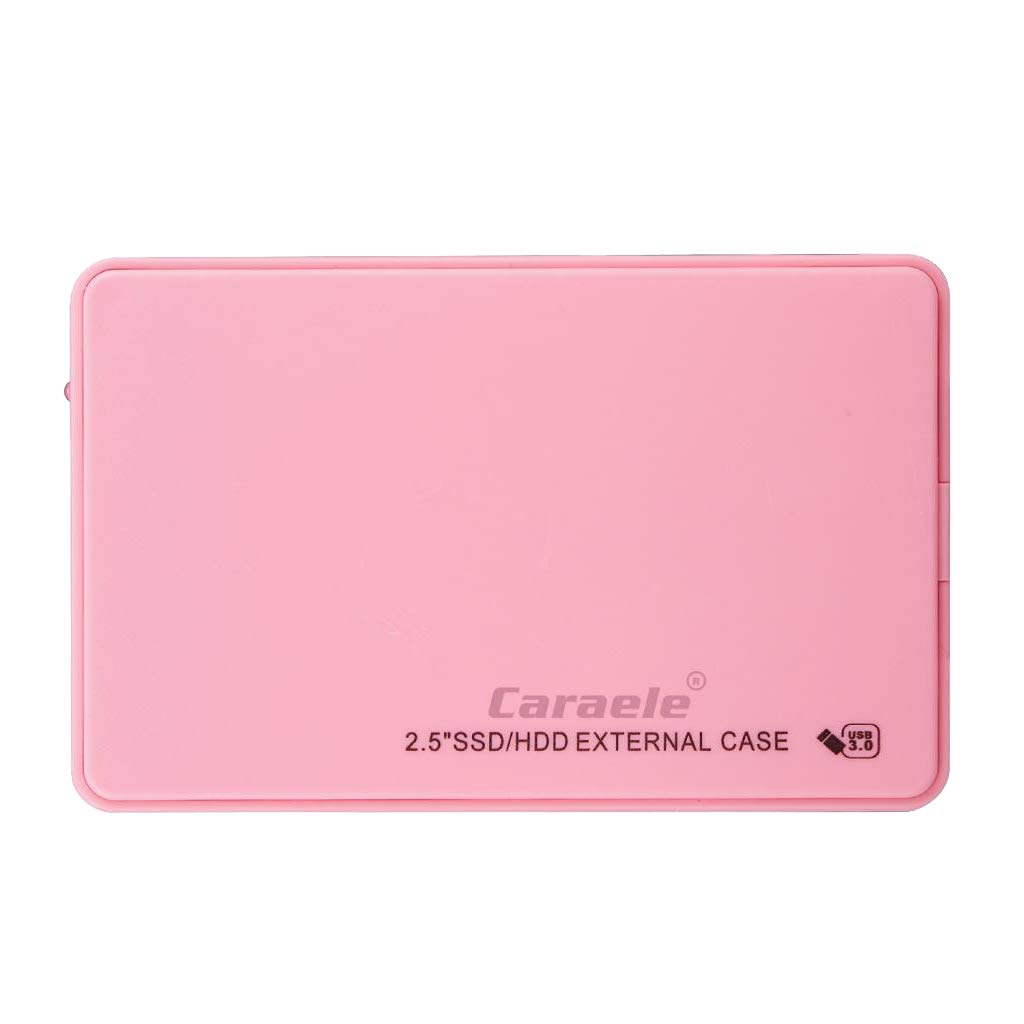 Homyl 500GB Portable External Hard Drive USB 3.0 for Laptop//Desktop//Xbox one//PS4//Wii U//MAC Pink