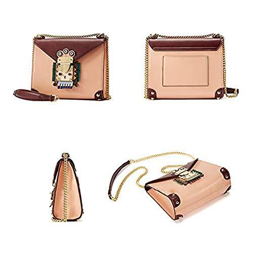 Del Personalidad Messenger Cadena B Original Bolso Lindo Bag Femenino La Cuadrado Wild Pequeño Y Moda Smart De Hombro xA684wZq1