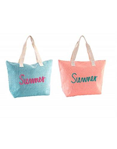 Bolso von Playa CON ASA Summer Rücken Colores Hogar Y Mas–Rosa