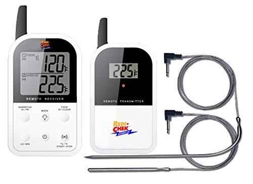 - Maverick Redi-Chek ET-732 Wireless Barbecue Grill Smoker Thermometer (White)