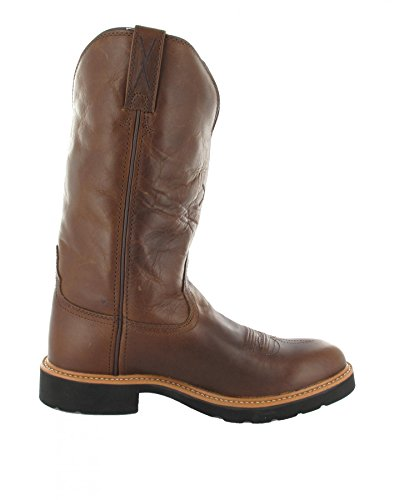 Twisted X Boots Work Pull On Western Cowboy Riding Boots Brown - Brown (Damen) Z9iOehUlLs