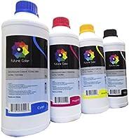 Future Color 4 litros De Tinta Compatible Uso en Ink Tank Gt51 Gt52 Gt5820 Black Cyan Magenta Yellow