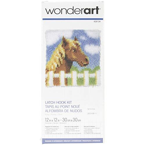 Wonderart Pony Latch Hook Kit, 12