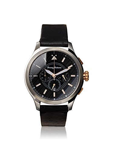 Tommy Bahama Relax Men's 10024807 Island Scout Chronograph (Air) Analog Display Japanese Quartz Black Watch ()