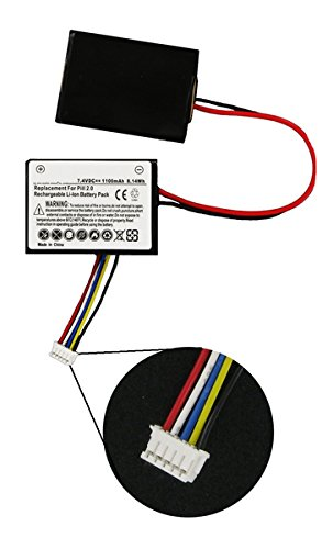 Sennheiser 550 Travel Wireless Headset Battery (Li-Pol, 7.4V, 1100mAh) - Replacement for Beats by Dr DRE Pill 2 Speaker Battery