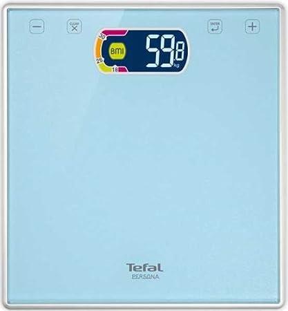 Tefal Persona - Báscula de baño (hasta 160 kilogramos, función BMI)