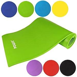 Gymnastikmatte Yogamatte Pilatesmatte Übungsmatte in verschiednen Farben Grün...