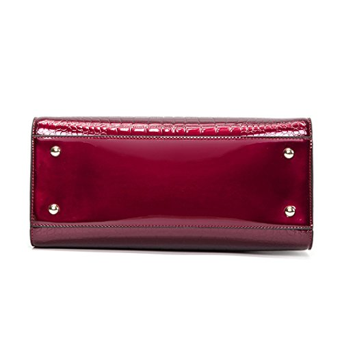 Asas Color Bolso Para Mujer Wine Sabarry Red De qS80nxqE