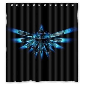 Custom Legend Of Zelda Shower Curtain 66x72