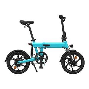 41wgSP01UYL. SS300 lzndeal Bici Elettrica, Bicicletta Elettrica, Bici Elettrica Pieghevole, Portatile Antiscivolo Regolabile 36V 250W…