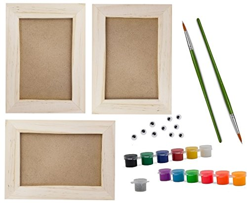 Picture Frame Painting Craft Kit, DIY Arts and Crafts Kit, 3 ...