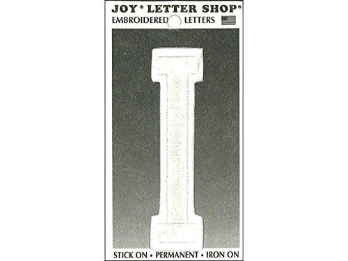 Joy JOY36009 Applique Letter Iron On Varsity White I, 3