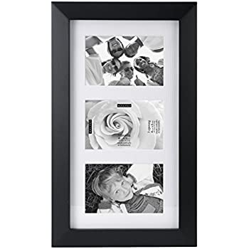 Amazon.com - Malden 4x6 4-Opening Collage Matted Picture Frame ...